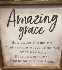 Amazing Grace Picture Giftware