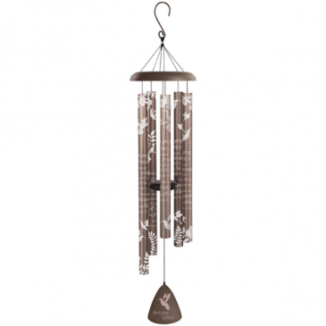 "Amazing Grace Silhouette 44"" Wind Chime Gift"