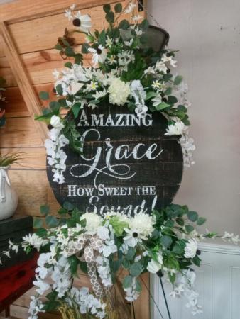 Amazing Grace  sympathy keepsake