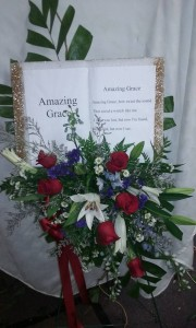 Amazing Grace Sympathy Spray