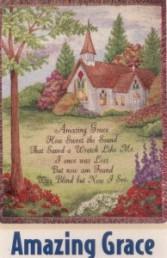 Amazing Grace Sympathy Tapestry