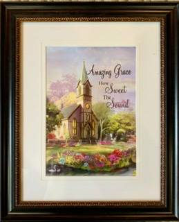 Amazing Grace Wall Picture  in Fairburn, GA | SHAMROCK FLORIST