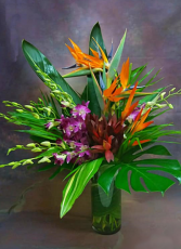 AMAZING TROPICAL ARRANGEMENT