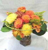 Amber Geo Fresh Floral Design