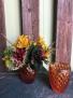 Amber Glass Fall Arrangement
