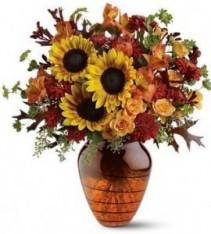 Amber Glow Bouquet