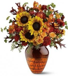 Amber Glow Bouquet in San Mateo, CA | GREEN FASHION FLORIST