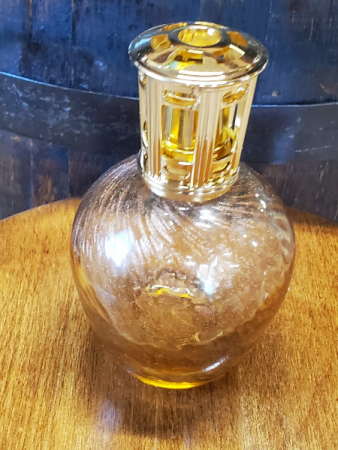 Amber & Gold Swirl Effusion Oil Lamp Effusion Oil Lamp