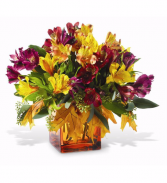 Amber Harvest Floral Arrangment