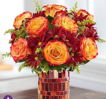Amber Waves 1-800 Flowers Bouquet