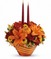 Amber Waves  by Enchanted Florist