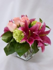AMBIENCE-  JUST BECAUSE ROSES & FLOWERS  Just Because Flowers and Roses Arrangement, Florists Prince George BC