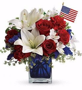 America the Beautiful by Teleflora  in Valley City, OH | HILL HAVEN FLORIST & GREENHOUSE