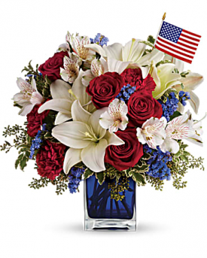 America The Beautiful by Teleflora™ All Occasions in Las Vegas, NV | All In Bloom