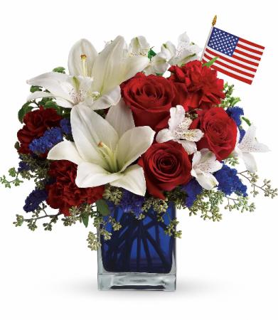 America the beautiful cube arrangement