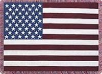 America The Beautiful Sympathy Throw