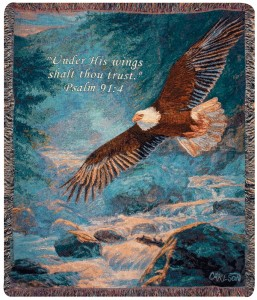 "American Majesty 50"" x 60"" Throw"