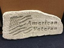 American Veteran Memorial Stone