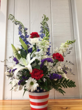 America's Glory Seasonal / 4th of July Floral