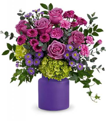 Amethyst Awe Bouquet PFD Amethyst - Standard, Deluxe or Premium
