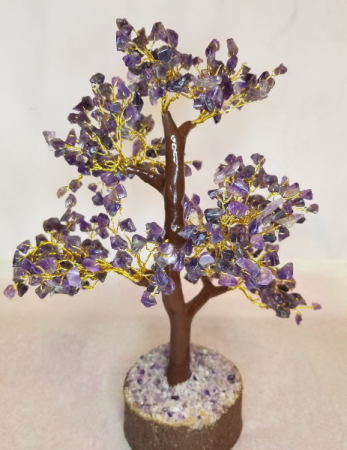 Amethyst Chip Tree Gift