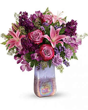 Amethyst Jewel Bouquet fresh floral arrangement