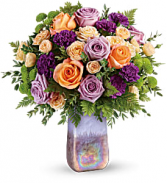 Amethyst Sunrise Bouquet   TEV58-2A