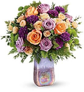 Amethyst Sunrise Bouquet   TEV58-2A
