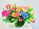 Amor floral arrangement