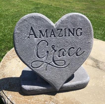 Amzing grace keepsake stone