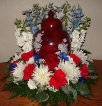 AN AMERICAN HERO Cremation Arrangement(Urn not included)
