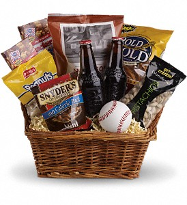 All American Past Time Basket Gift Basket in Tulsa, OK | THE WILD ORCHID FLORIST