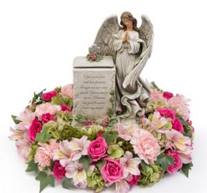 An Angel's Prayer Memorial with Box  in Arlington, TX | Erinn's Creations Florist
