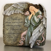 An Angel's Whisper Wall Plaque