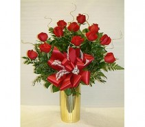 An Expression of Love dozen long-stem roses