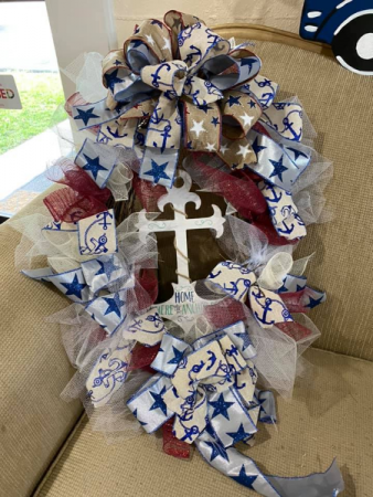 Anchor Wreath