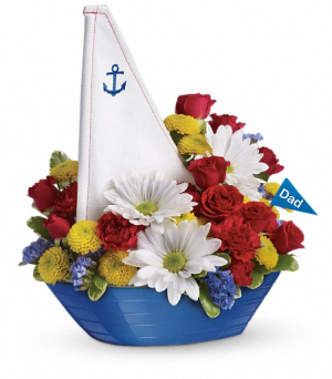 Anchors Away Bouquet  in Fort Collins, CO   D'ee Angelic Rose Florist