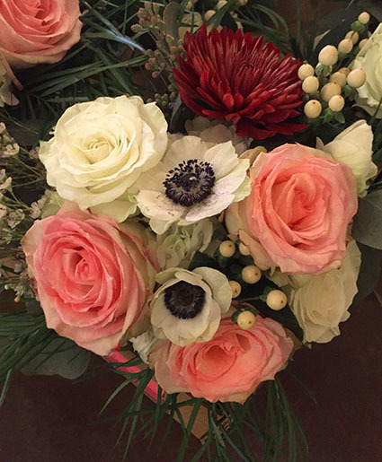 Anemone Roses Bouquet