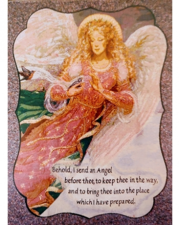 ANGEL AFGHAN THROW GIFTS