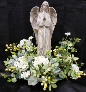 ANGEL AND SILK REMEMBRANCE  in Baton Rouge, LA | FLOWER BASKET