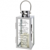Angel Arms Chrome Lantern