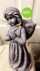 Angel Basket on back