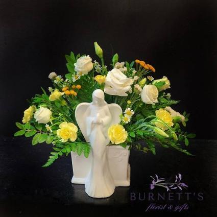 Angel Blooms Vase Arrangement