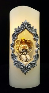 Angel Candle ~battery operated Gift Item