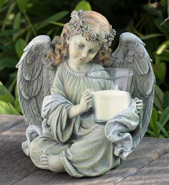 Angel Candle Holder Gift