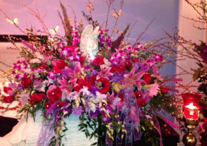 Angel casket cover   in Ozone Park, NY | Heavenly Florist