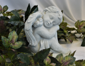 ANGEL FIGURE - STONE STONE ANGEL