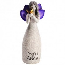 "Angel Figurine ""You're an Angel"" Sympathy Accessory/ Gift item"