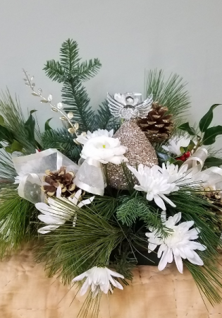 Angel Keepsake Fresh Arrangement