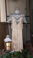 Angel  Figurine Wood